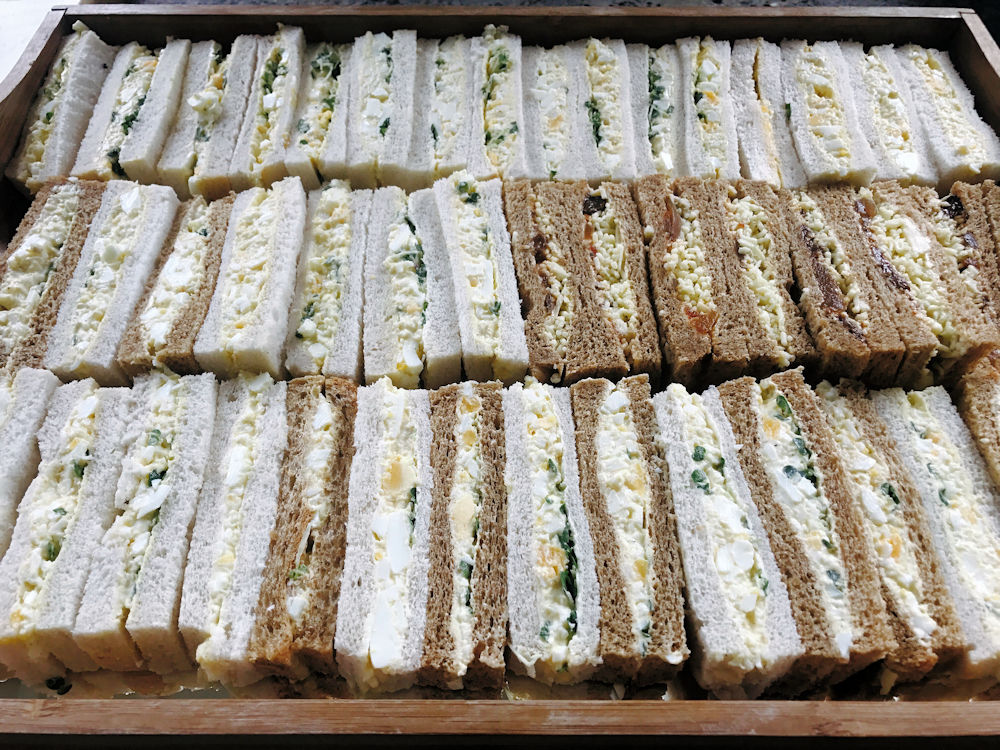 afternoon-tea-catering-sandwiches-london - Jackiefilmer Bespoke Catering